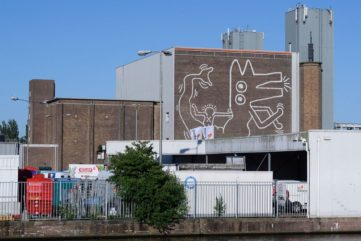 A Hidden Keith Haring Mural Revealed in Amsterdam!