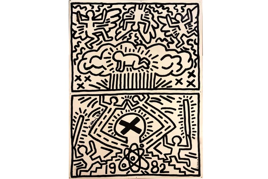 Keith Haring - No Nukes, 1982