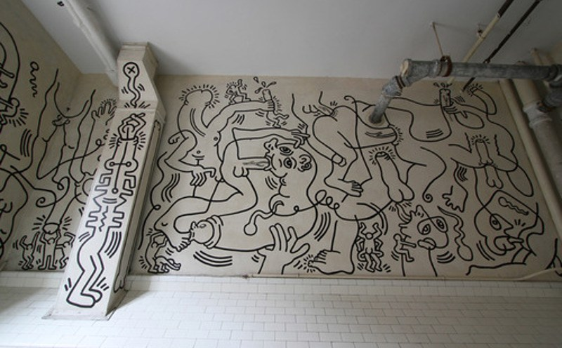 Keith Haring - Once Upon a Time - New York, 1989