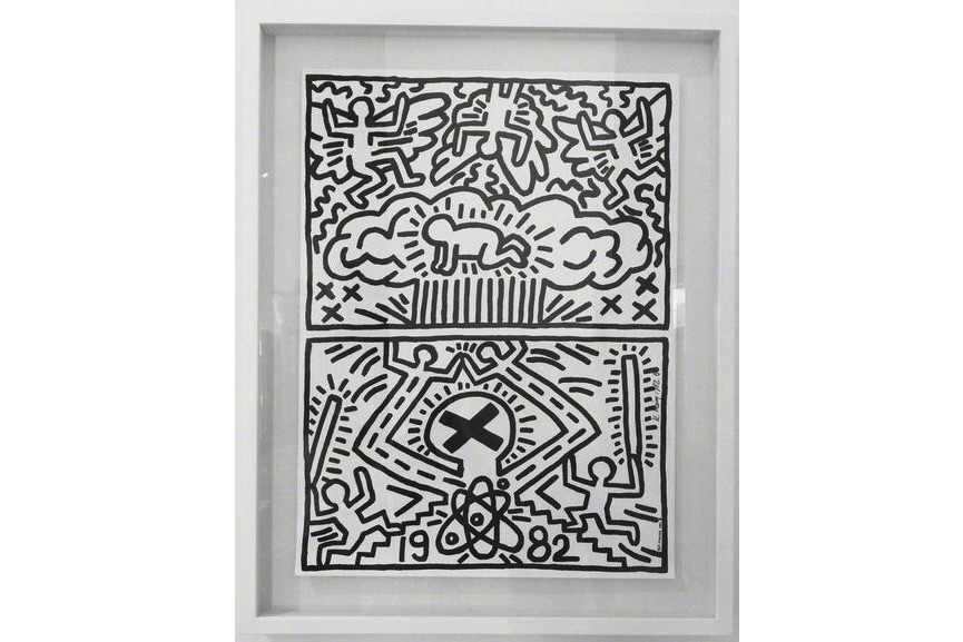 Keith Haring - Poster for Nuclear Disarmament, 1982