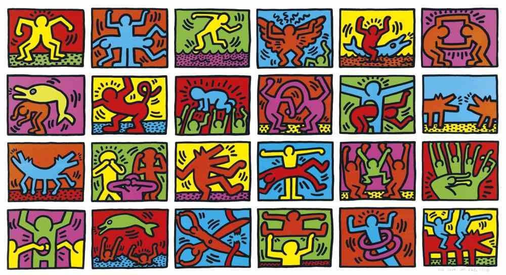 Keith Haring-Retrospect-1989