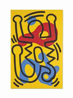 Keith Haring-Sans titre (Untitled)-1986