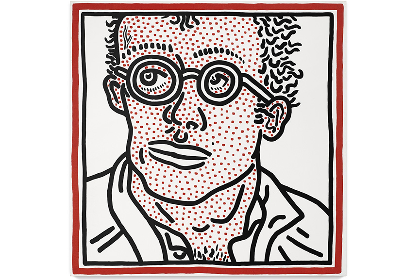 Keith Haring - Self-Portrait For Tony, 1985