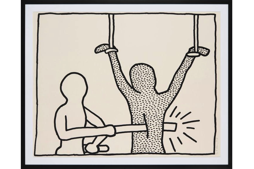 Keith Haring - The Blueprint drawings, 1990