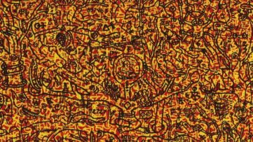 Keith Haring - The Last Rainforest (detail)