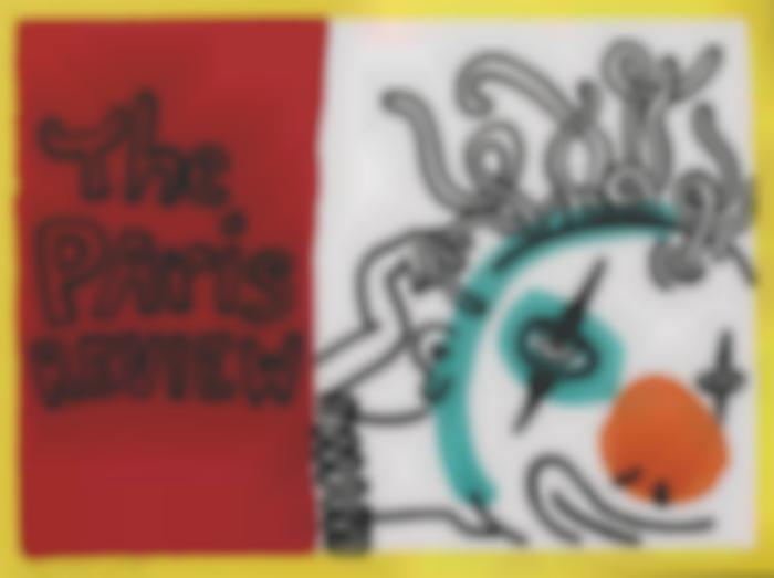 Keith Haring-The Paris Review (L. Pg. 114)-1989