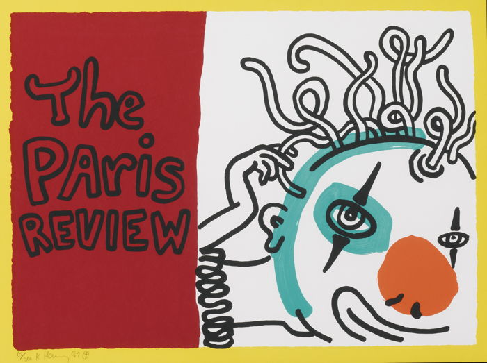 Keith Haring-The Paris Review (L. Pg. 114)-1989