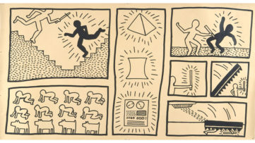 Keith Haring - Untitled, 1980