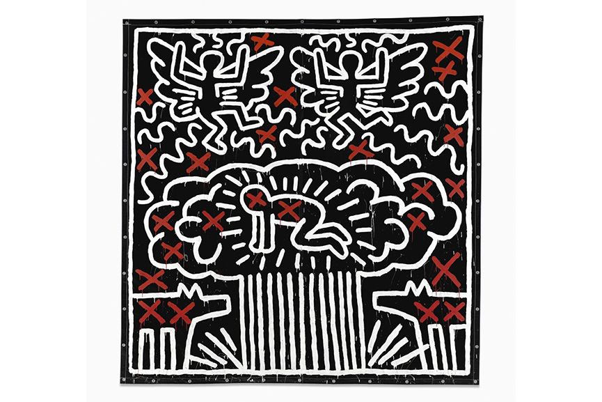 Keith Haring - Untitled, 1982