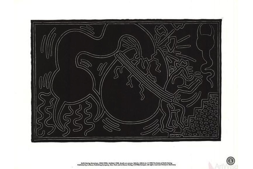 Keith Haring - Untitled (1988), 1993