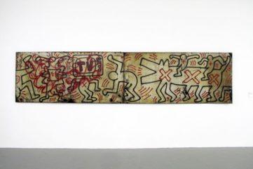 Keith Haring - Untitled (FDR NY) #3 & #4, 1984