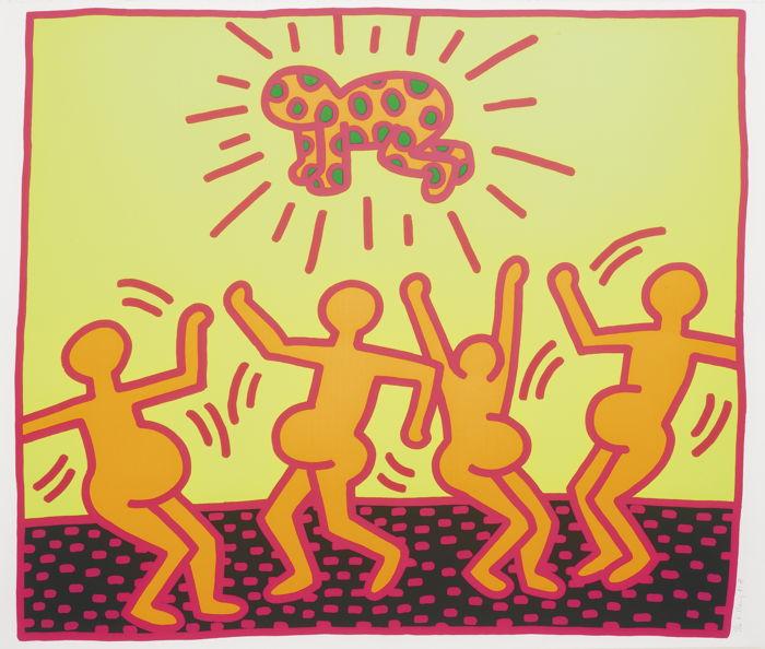 Keith Haring-Untitled (Littmann Pg. 31)-1983