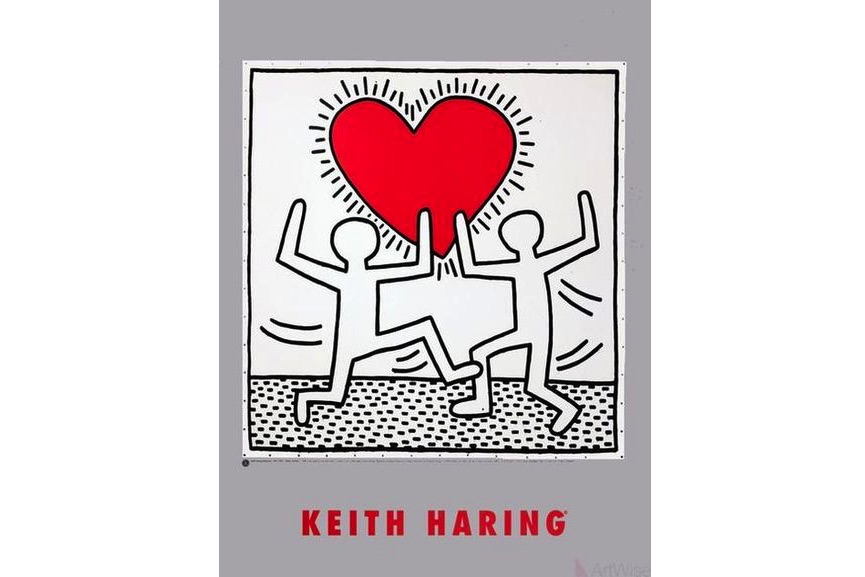 Keith Haring - Untitled (October 7, 1982)