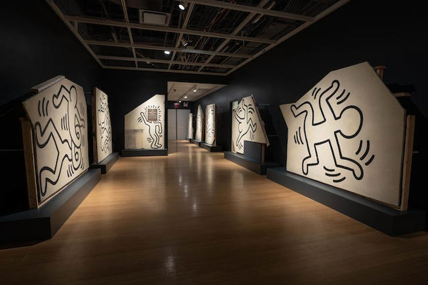 Keith Haring - Untitled (The Church Of The Ascension Grace House Mural), Circa 1983/1984
