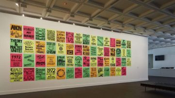 Kelly Doley - Things learnt about feminism #1 - #95, 2014