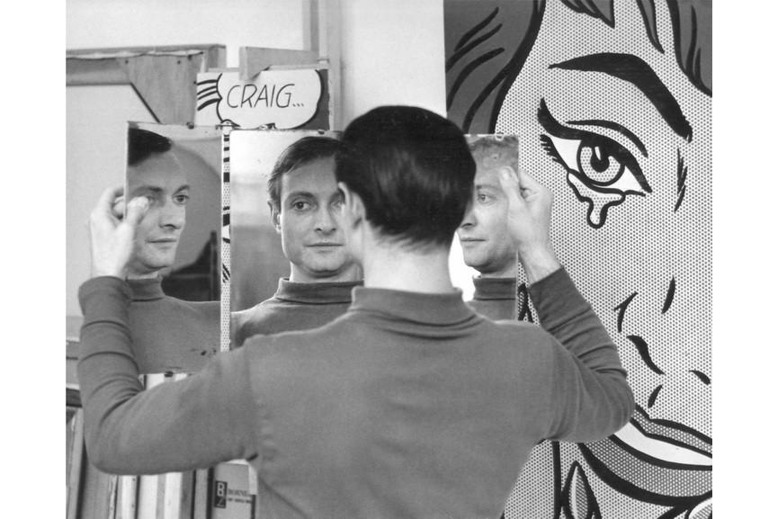 Ken Heyman - Roy Lichtenstein