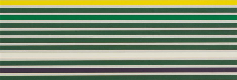 Kenneth Noland-Shadow Line-1968