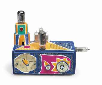 Kenny Scharf-Clock Radio-1980