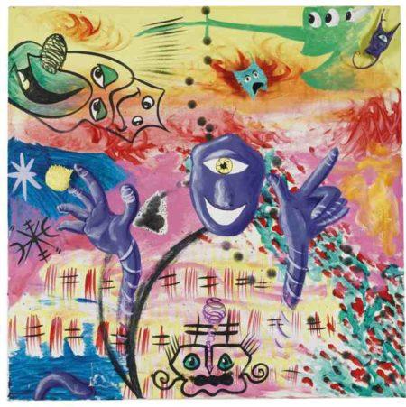 Kenny Scharf-Purple Person-1983
