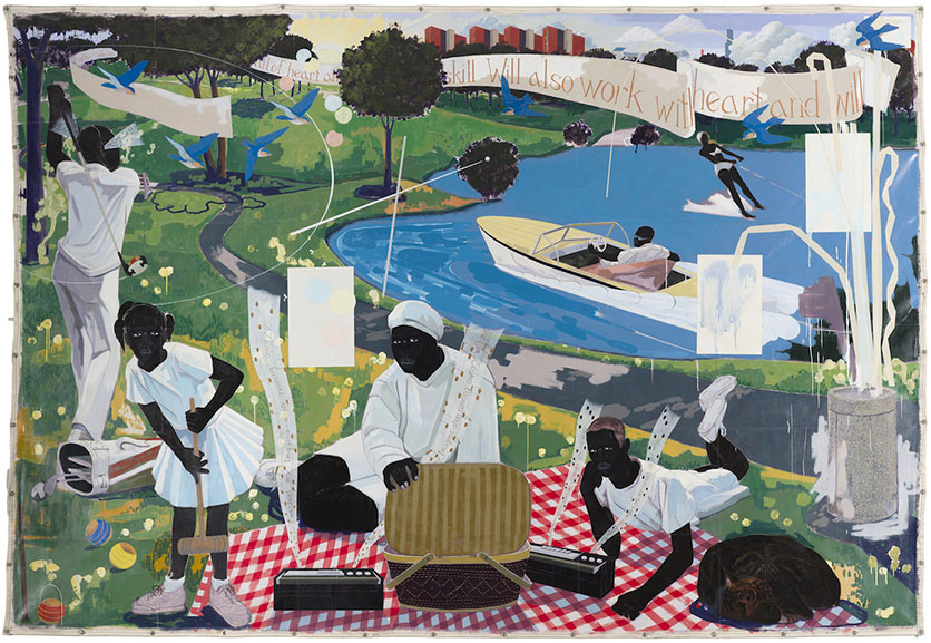 Kerry James Marshall - Past Times, 1997