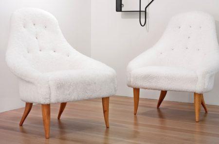 Kerstin Horlin-Holmquist - Pair Of Lilla Eva Easy Chairs-1958