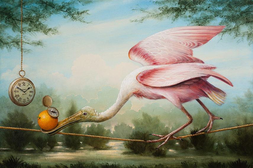 Kevin Sloan gallery  garden  world  acrylic landscape  paint gallery