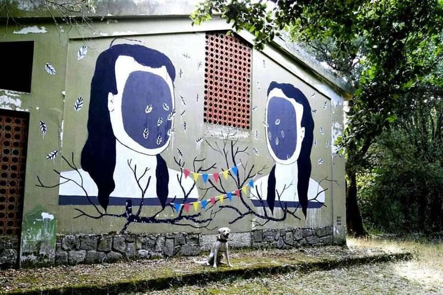 Kiki Skipi Mural
