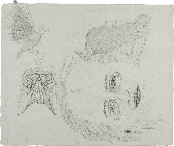 Kiki Smith-Ginzer and the Birds-1996