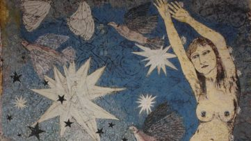 Kiki Smith - Sky (detail), 2011 art exhibitions