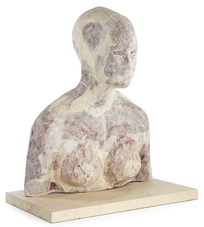 Kiki Smith-Untitled (Bust)-1993