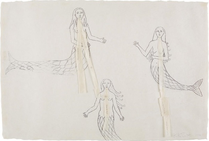 Kiki Smith-Untitled (Mermaids)-1994