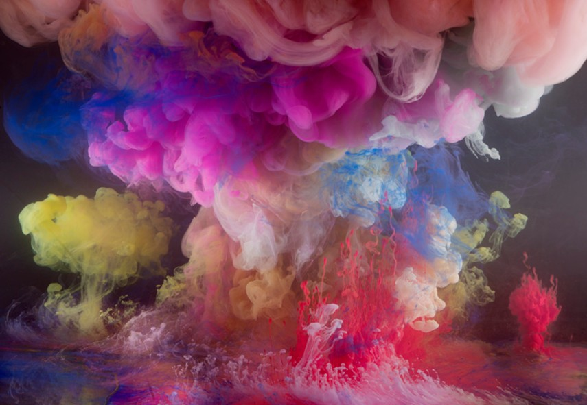 Kim Keever - Abstract 6147, 24x30, 38x48, 2013, KTF, IN SHOW