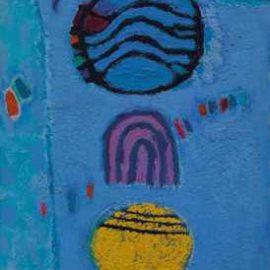 Kim Whanki-Untitled-1969
