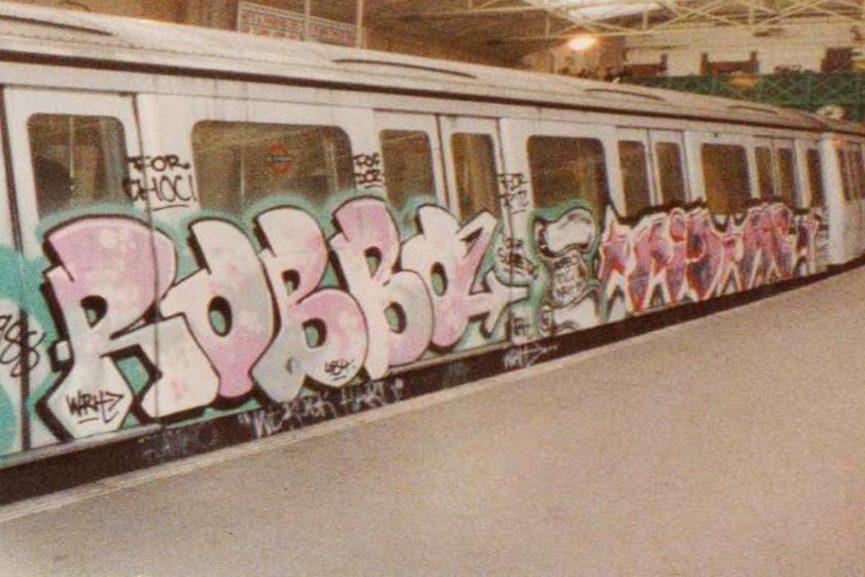 King Robbo Graffiti
