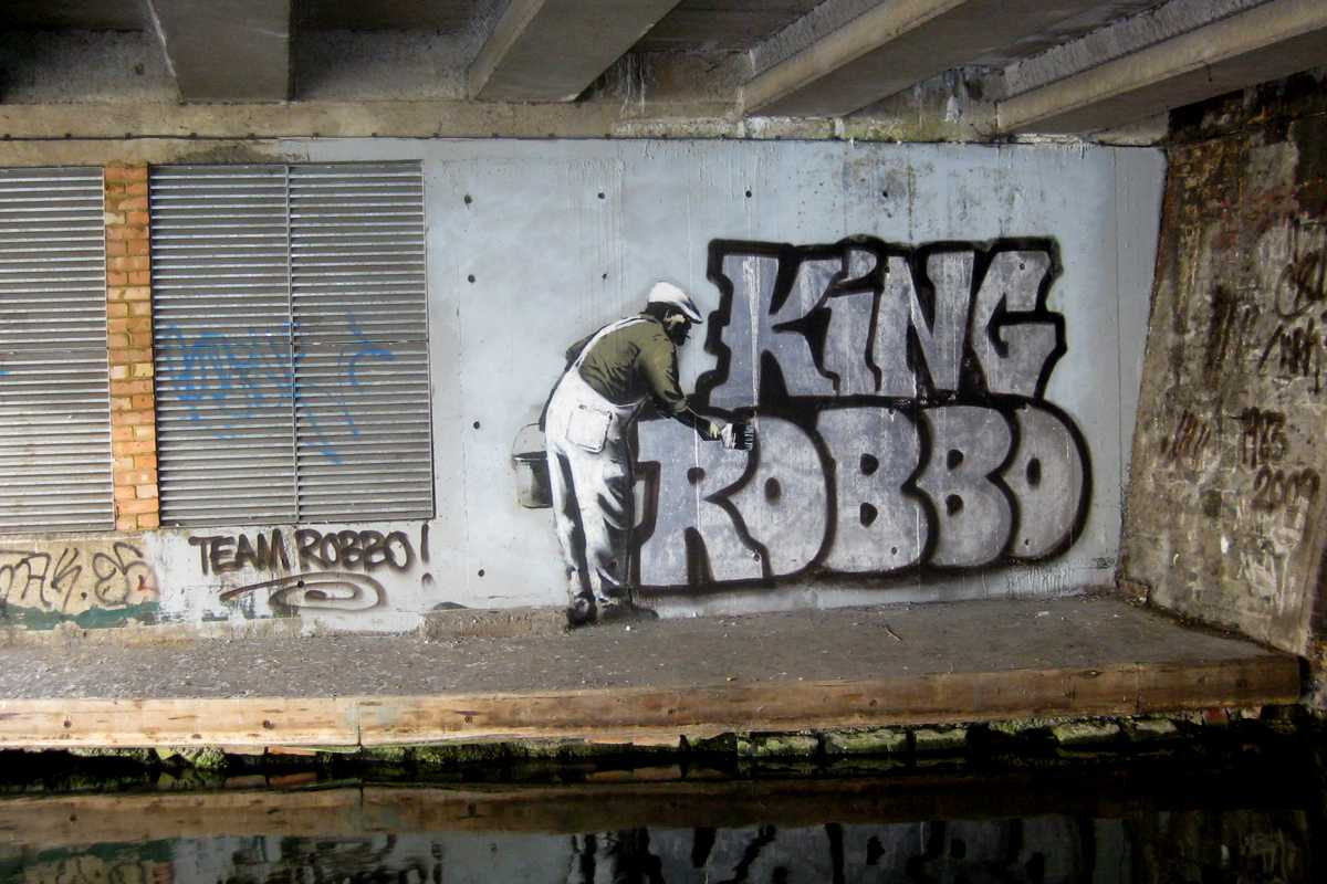 King Robbo Graffiti