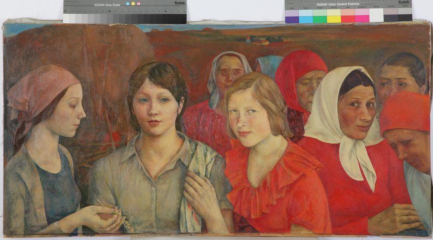 Kirillova L. N. - Girls of the village Chernoe, 1974