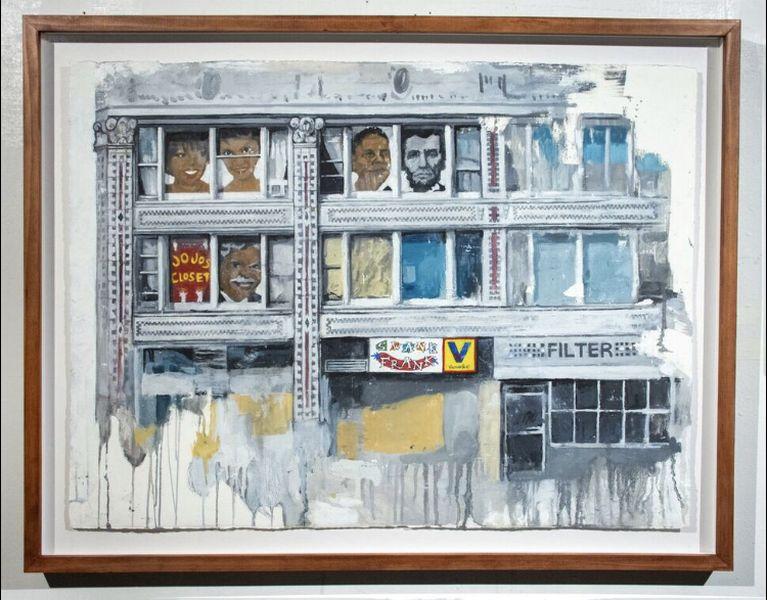 Kirsten Valentine - Landscapes 3, The Flatiron Arts Building