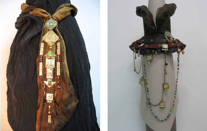 Conception, 2005 (Left) / Traps of Life, 2005 (Right)