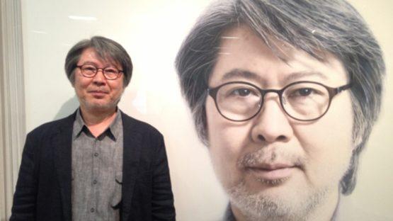 Ko Young-Hoon and his Self-Portirat - Image source Gana Art Center