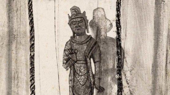 Kokuta Suda - Buddhist Deity, c. 1940 - Image via icollector