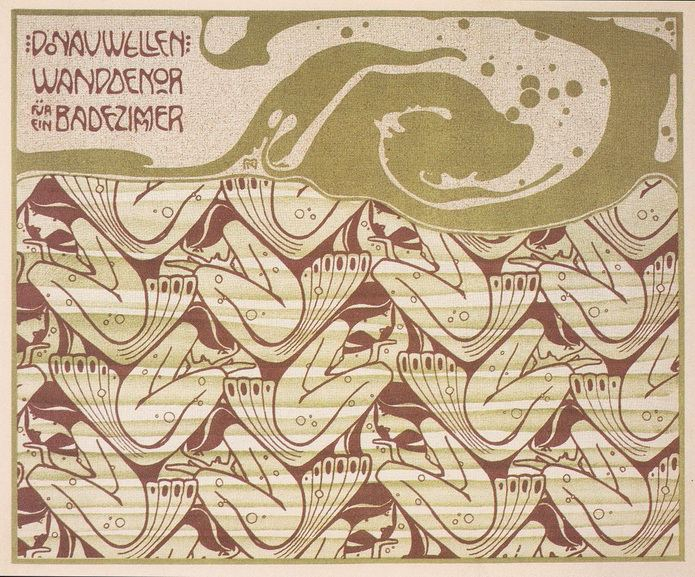 Koloman Moser - Donauwellen