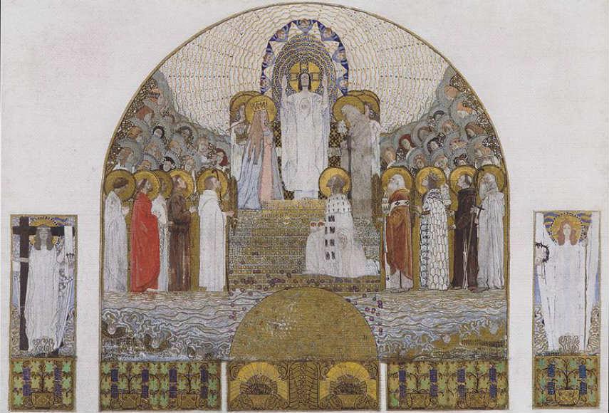 Koloman Moser - Steinhof Church, Altar, 1905 edit