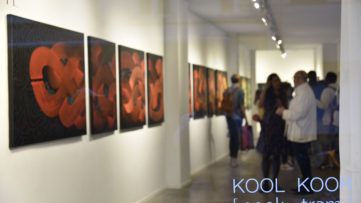 Kool Koor [spek-trəm] at Galerie Martine Ehmer, 2018, courtesy the artist