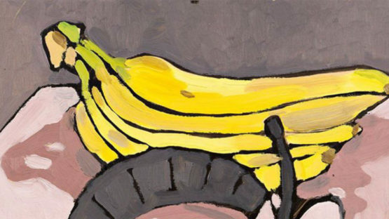 Kristen Opstad - Bananas (detail), 2016, Image courtesy of Reed Projects Gallery