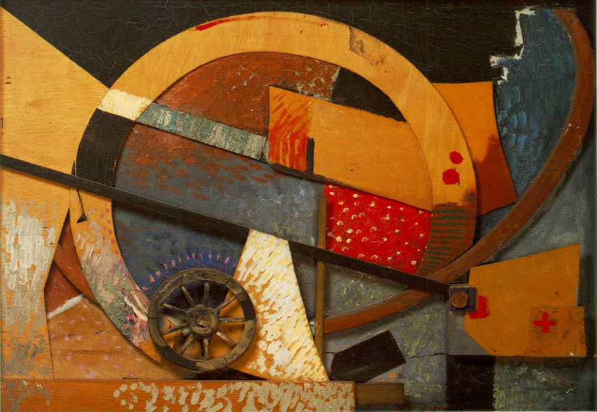 Kurt Schwitters - Glass Flower, 1931, photo via pinterest.com 1923 hanover german works 1918 exhibition collages
