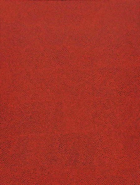 Yayoi Kusama-No. Red B-1960