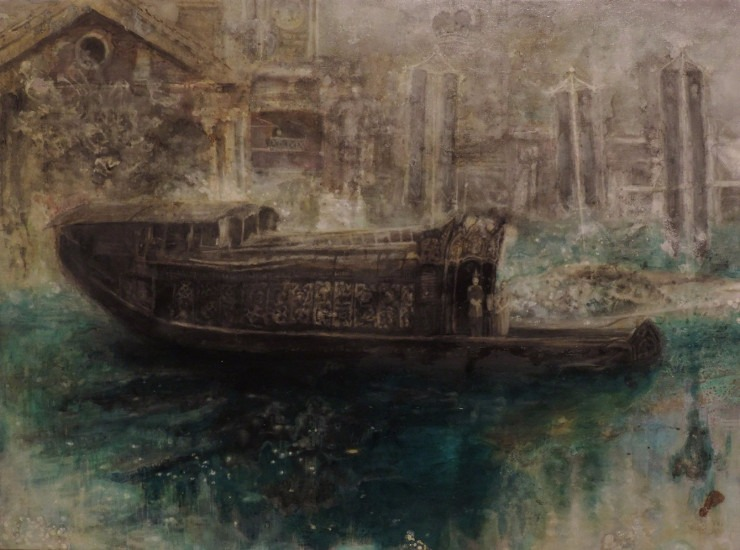 Kwong Man Chun - Liwan and Victoria Harbour, 2014