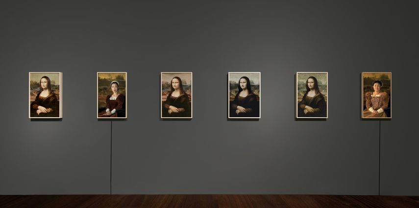 Kyungah Ham Mona Lisa and the Others from the North