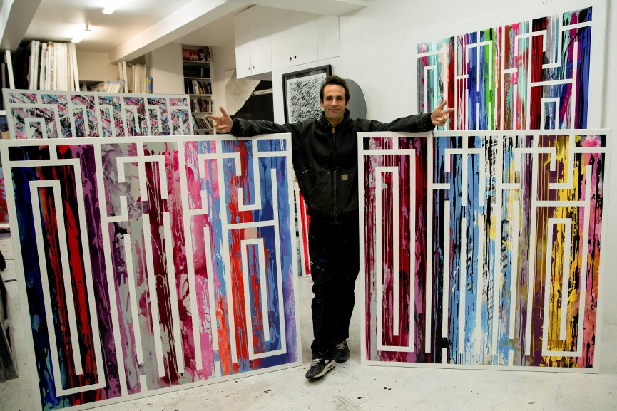 L'Atlas in His Studio - Image courtesy of Byndr