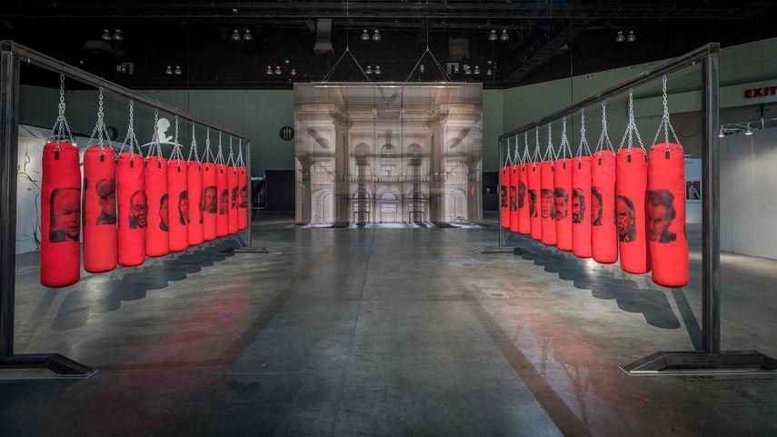 LA Art Show 2018 Left or Right